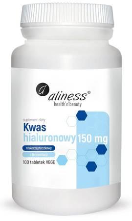 Aliness Kwas Hialuronowy 150 mg 100 tabletek vege