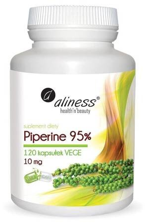 Aliness Piperine 10 mg 120 kapsułek vege