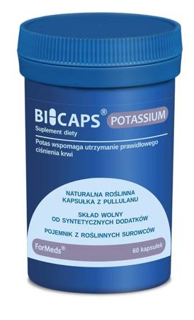 ForMeds BiCaps Potassium 360 mg 60 kapsułek