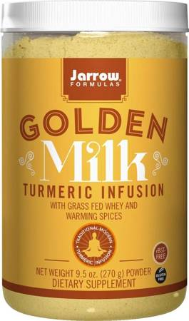 Jarrow Formulas Golden Milk Turmeric Infusion Puder 270 g