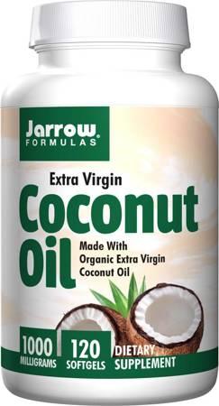 Jarrow Formulas Olej z Kokosa (Coconut Oil) 1000 mg 120 kapsułek