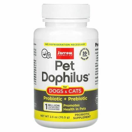 Jarrow Formulas Pet Dophilus Dogs Cats 70 g
