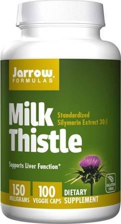 Jarrow Ostropest Plamisty (Milk Thistle) 150 mg 100 kapsułek