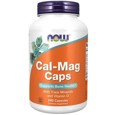 Now Foods Cal-Mag Caps 240 kapsułek