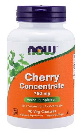 Now Foods Cherry Concentrate 750 mg 90 kapsułek