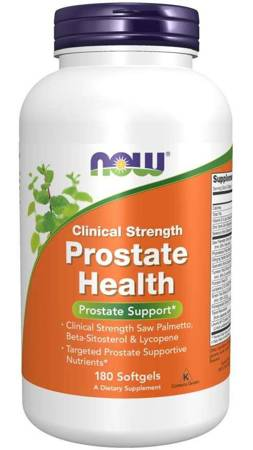 Now Foods Clinical Health Prostate 180 kapsułek