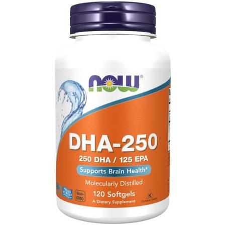 Now Foods DHA-250 120 kapsułek