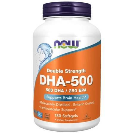 Now Foods DHA-500 180 kapsułek