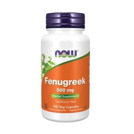 Now Foods Kozieradka (Fenugreek) 500 mg 100 kapsułek