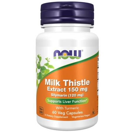 Now Foods Silymarin 150 mg 60 kapsułek