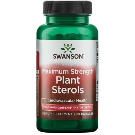 Swanson CardioAid Beta Sitosterol 60 kapsułek