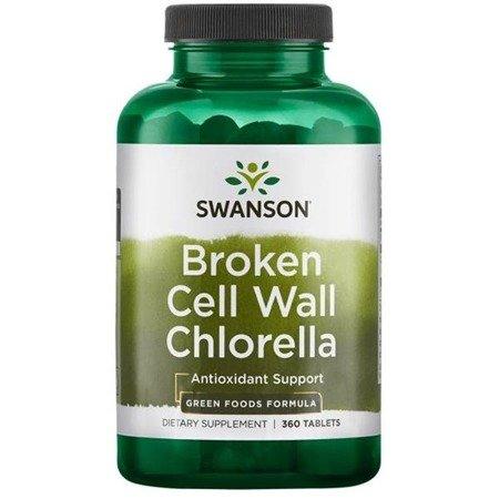 Swanson Chlorella 500 mg 360 tabletek