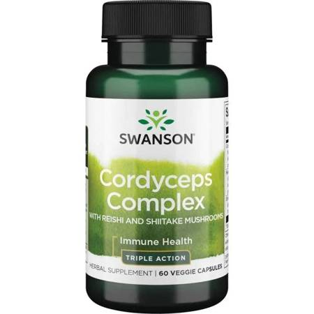 Swanson Cordyceps Complex 60 kapsułek