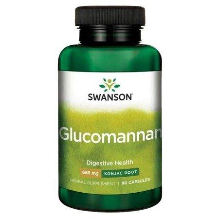Swanson Glucomannan 665 mg 90 kapsułek