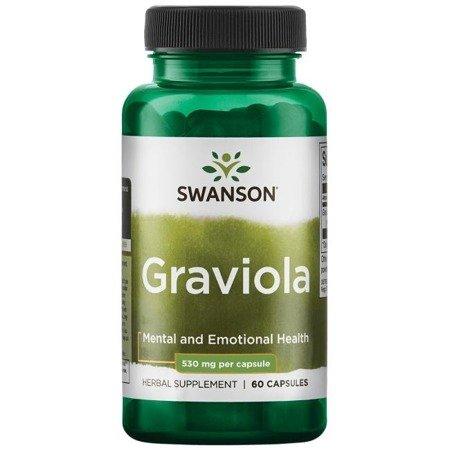Swanson Graviola 530 mg 60 kapsułek