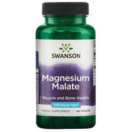 Swanson Jabłczan Magnezu 150 mg 60 tabletek