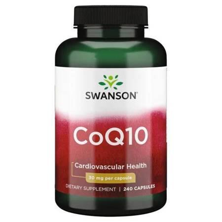 Swanson Koenzym Q10 30 mg 240 kapsułek