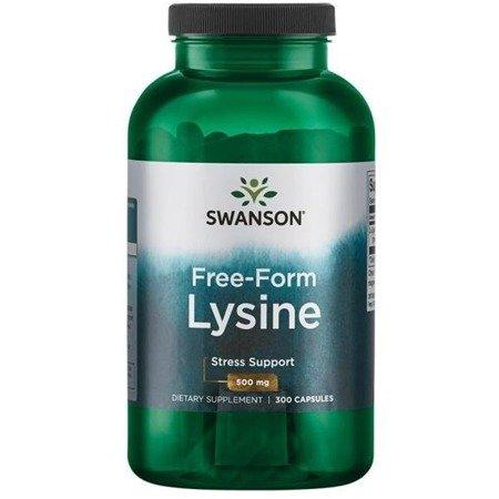 Swanson L-Lizyna 500 mg 300 kapsułek