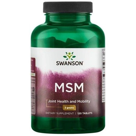 Swanson MSM Metylosulfonylometan TruFlex 1500 mg 120 tabletek
