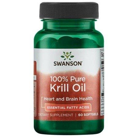 Swanson Olej z Kryla (Krill Oil) 500 mg 60 kapsułek